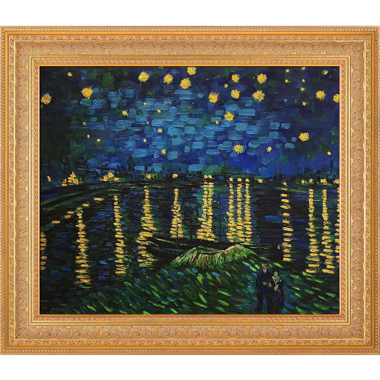 overstockArt Vincent Van Gogh Framed Hand Painted Oil on Canvas VGG516-FR-820920X24