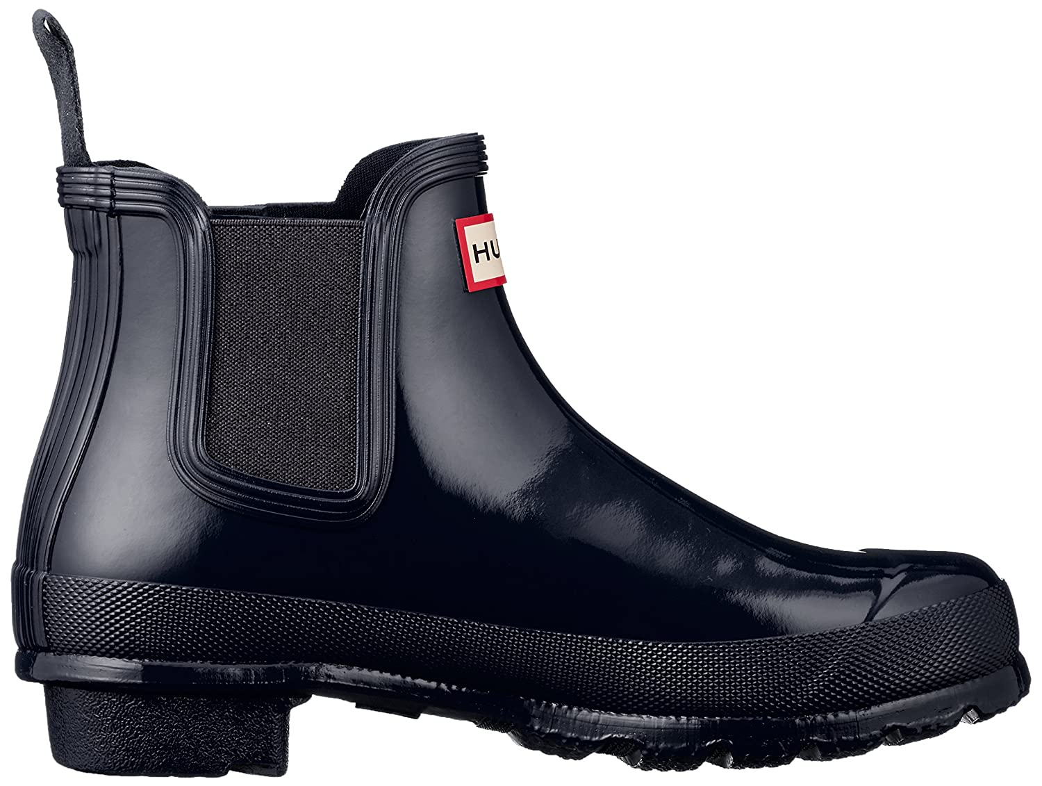 Hunter Women's Original Chelsea High-Top Rubber B(M) Rain Boot B01FIIVECG 5 B(M) Rubber US|Navy df9989