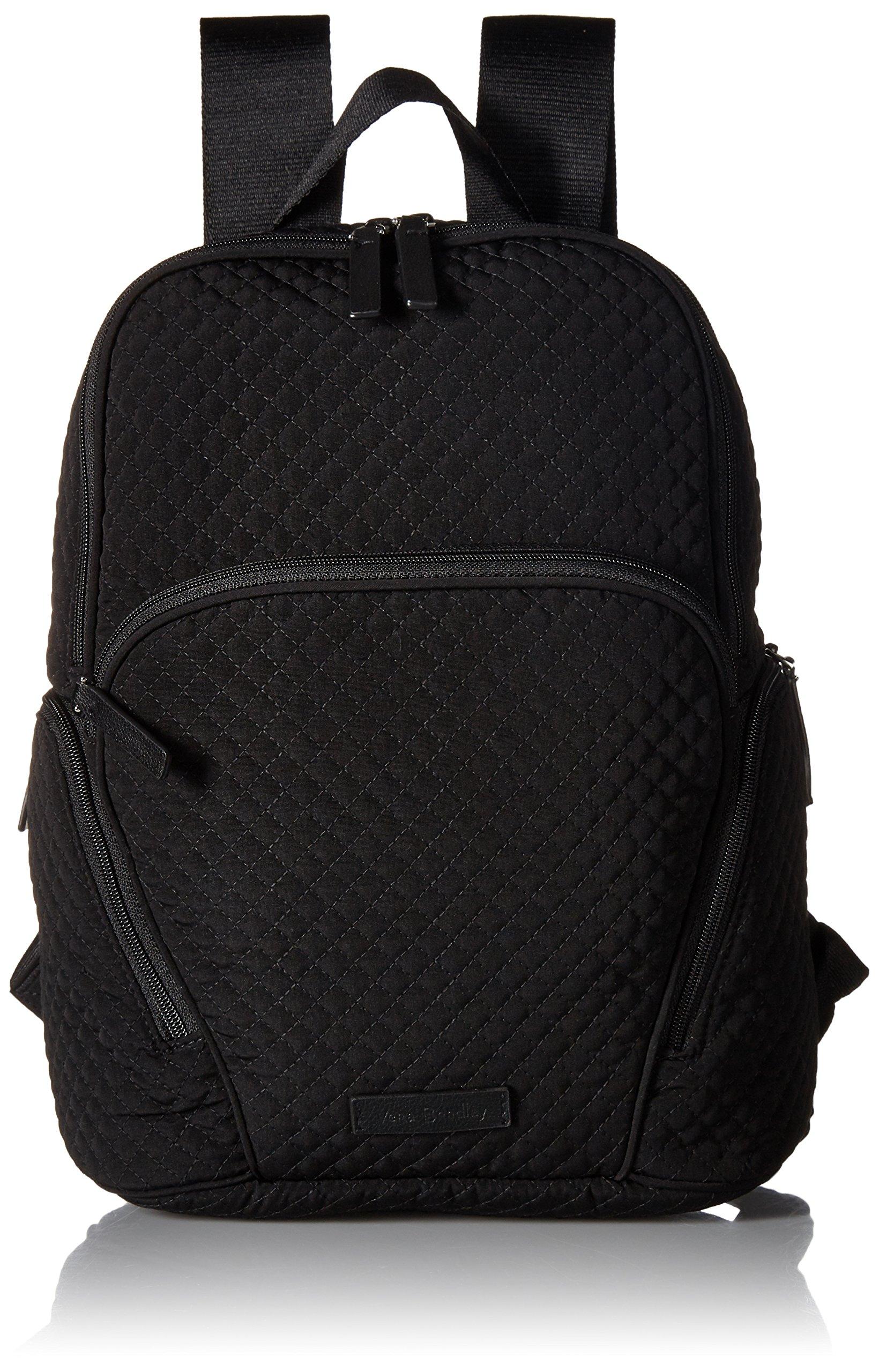 Vera Bradley Women's Hadley Backpack, Classic Black