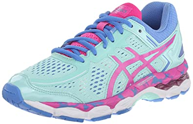 ASICS Gel Kayano 22 GS Running Shoe (Little Kid/Big Kid), Ice