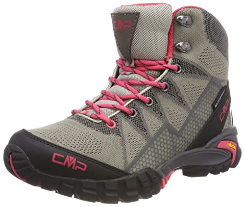 CMP Tauri, Zapatos de Low Rise Senderismo para Mujer, Verde (Abete), 36 EU