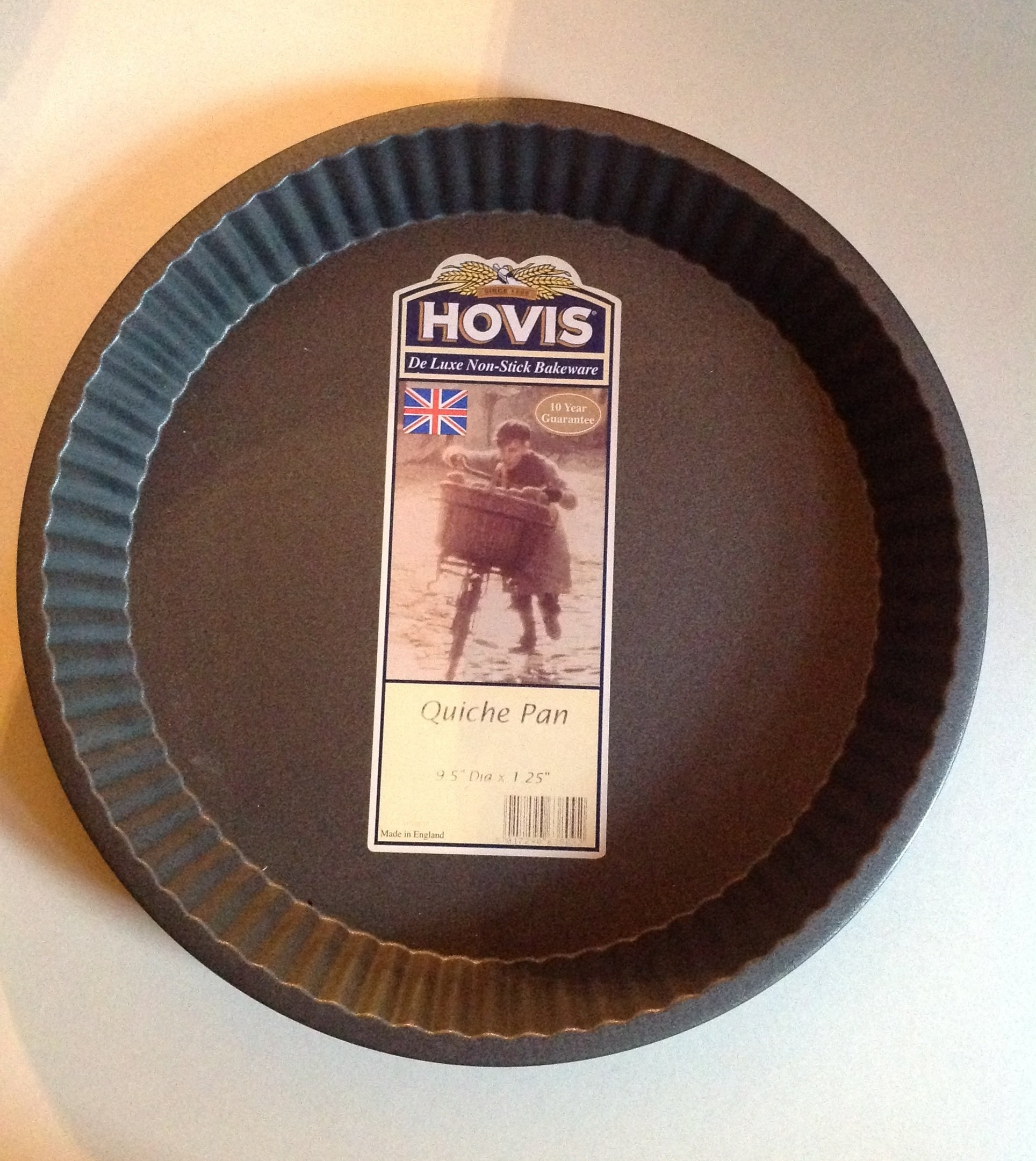 Hovis Deluxe Nonstick Bakeware Quiche Pan