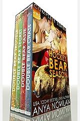 Hockey Bear Season: MFM Paranormal Sports Romance Kindle Edition