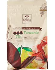CACAO BARRY 75% Min Cacao Chocolat Tanzanie Pistoles 1 kg