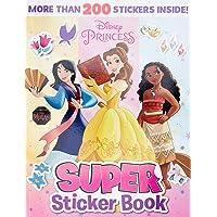 Disney Princess: Super Sticker Book
