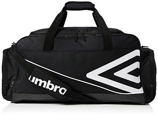 d4182bacb614 Umbro Unisex s Pro Training Holdall Bag-Black White