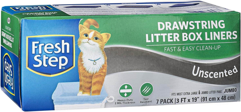 Fresh Step Drawstring Cat Litter Box Liners