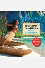 Moana Movie Storybook / Libro basado en la película (English-Spanish) Kindle Edition