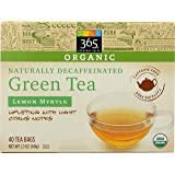 365 Everyday Value, Organic Decaffeinated Green Tea with Lemon Myrtle, 40 Tea Bags
