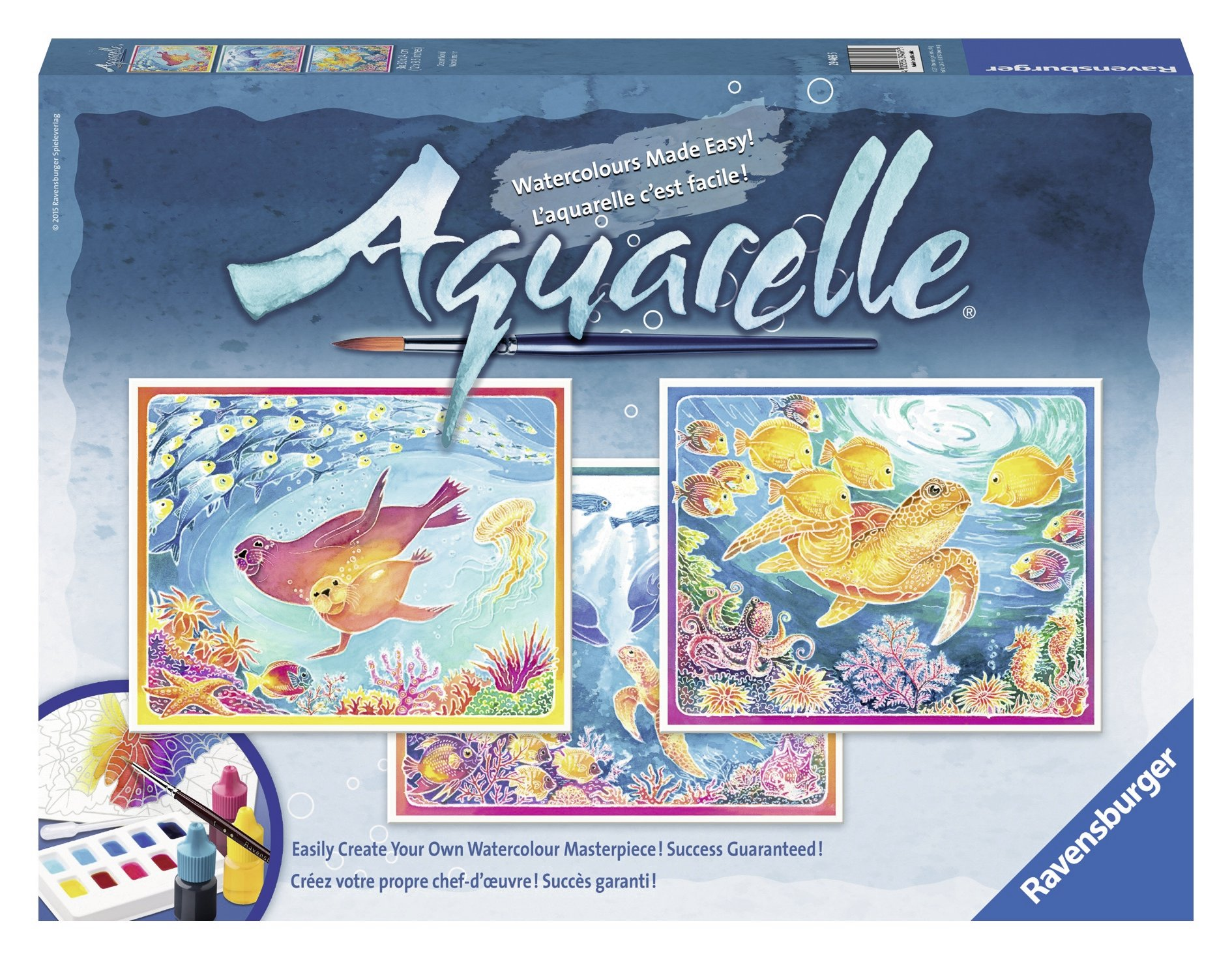 Ravensburger Aquarelle Ocean World - Arts & Crafts Kit Playset