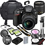 Nikon D3500 DSLR Camera Bundle with 18-55mm VR Lens | Built-in Wi-Fi|24.2 MP CMOS Sensor | |EXPEED 4 Image Processor and…