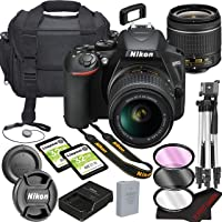 Nikon D3500 DSLR Camera Bundle with 18-55mm VR Lens | Built-in Wi-Fi|24.2 MP CMOS Sensor | |EXPEED 4 Image Processor and…