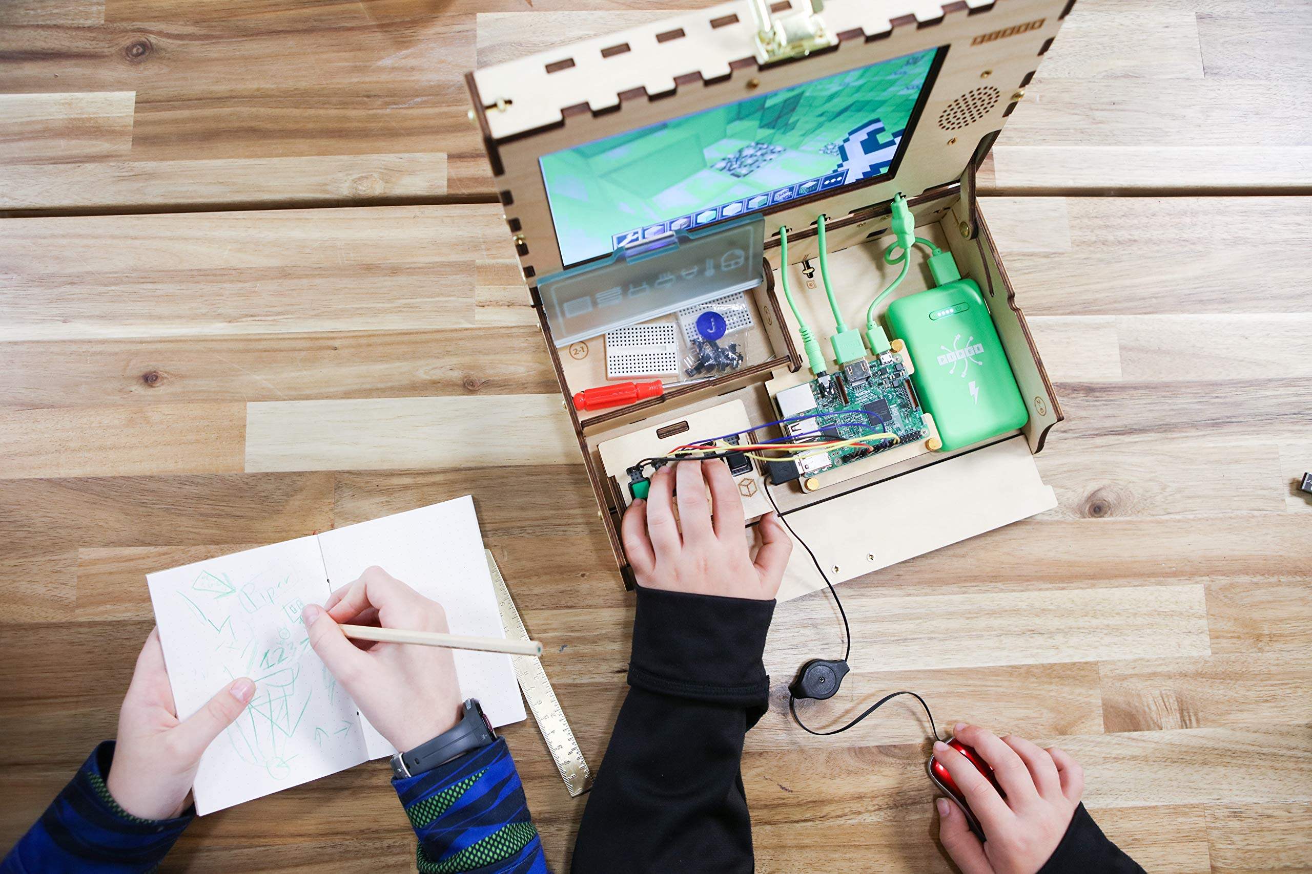 Piper Computer Kit 2 - Teach Kids to Code - Hands On STEM Learning Toy with Minecraft: Raspberry Pi (New) by Piper (Image #7)