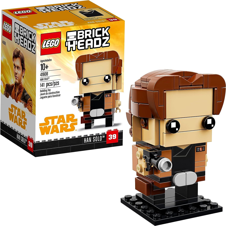 LEGO BrickHeadz Han Solo 41608 Building Kit (141 Piece)