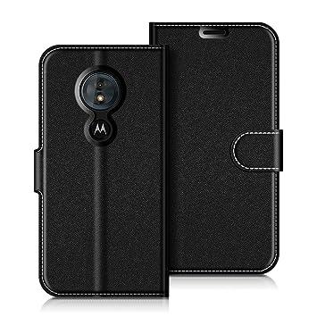 COODIO Funda Motorola Moto G6 Play con Tapa, Funda Movil Motorola Moto G6 Play, Funda Libro Motorola Moto G6 Play Carcasa Magnético Funda para ...