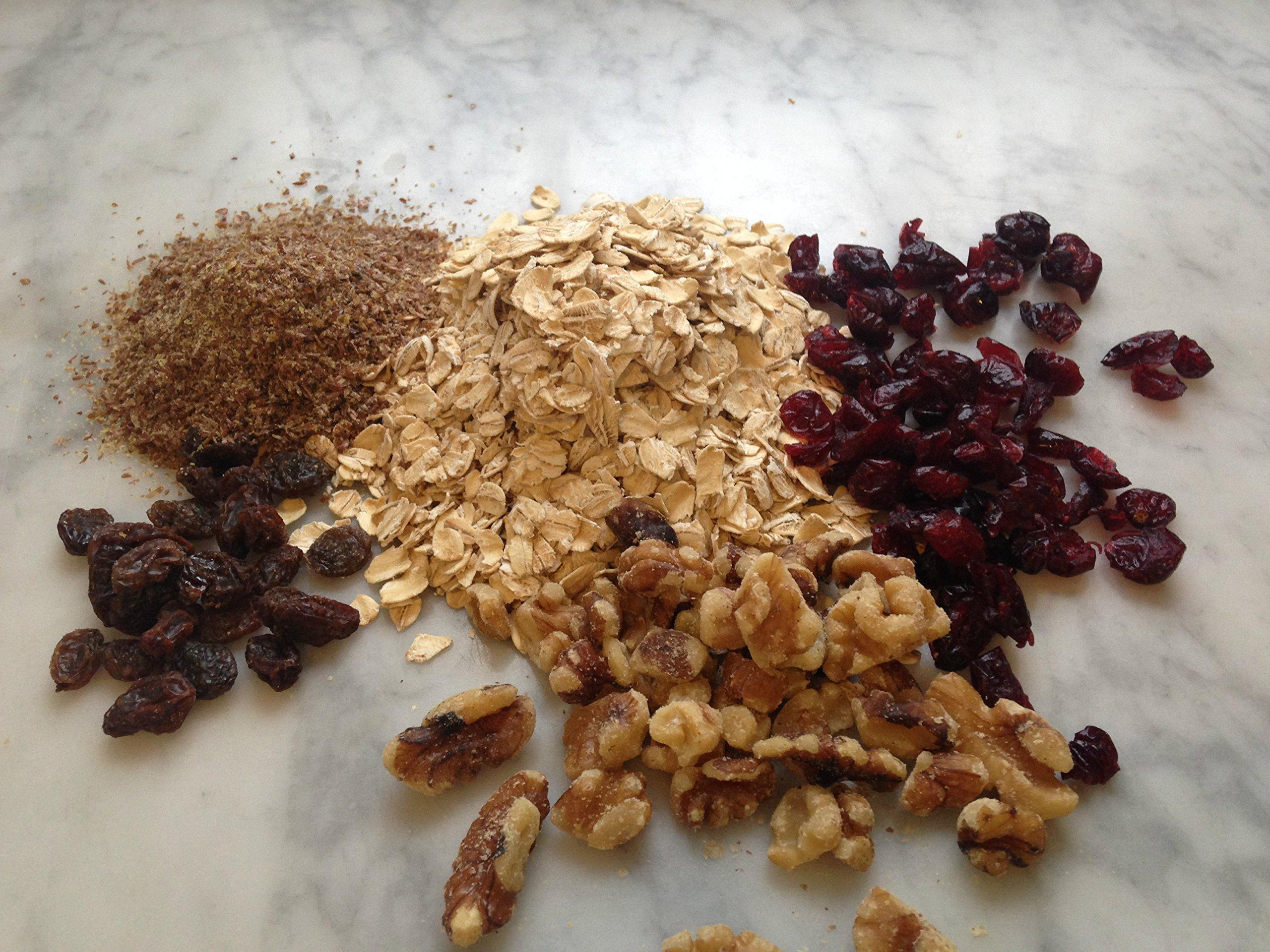 Susie's Smart Breakfast Cookie Orange, Cranberry, Nut Breakfast Cookie, 3.5 Ounce (Pack of 18) by Susie's Smart Breakfast Cookie (Image #4)