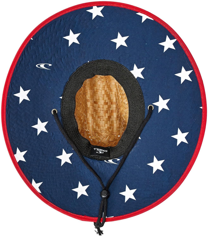 ONeill Mens Sonoma Print Straw Hat