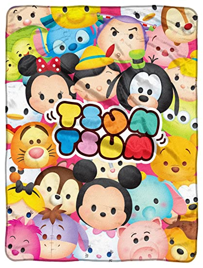 Disney – Peluche Tsum Tsum,Tsum Tsum Full Micro Raschel manta por el noroeste Company