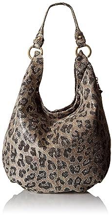 HOBO Vintage Gardener Shoulder HOBO Bag, Cheetah Shimmer, One Size ...