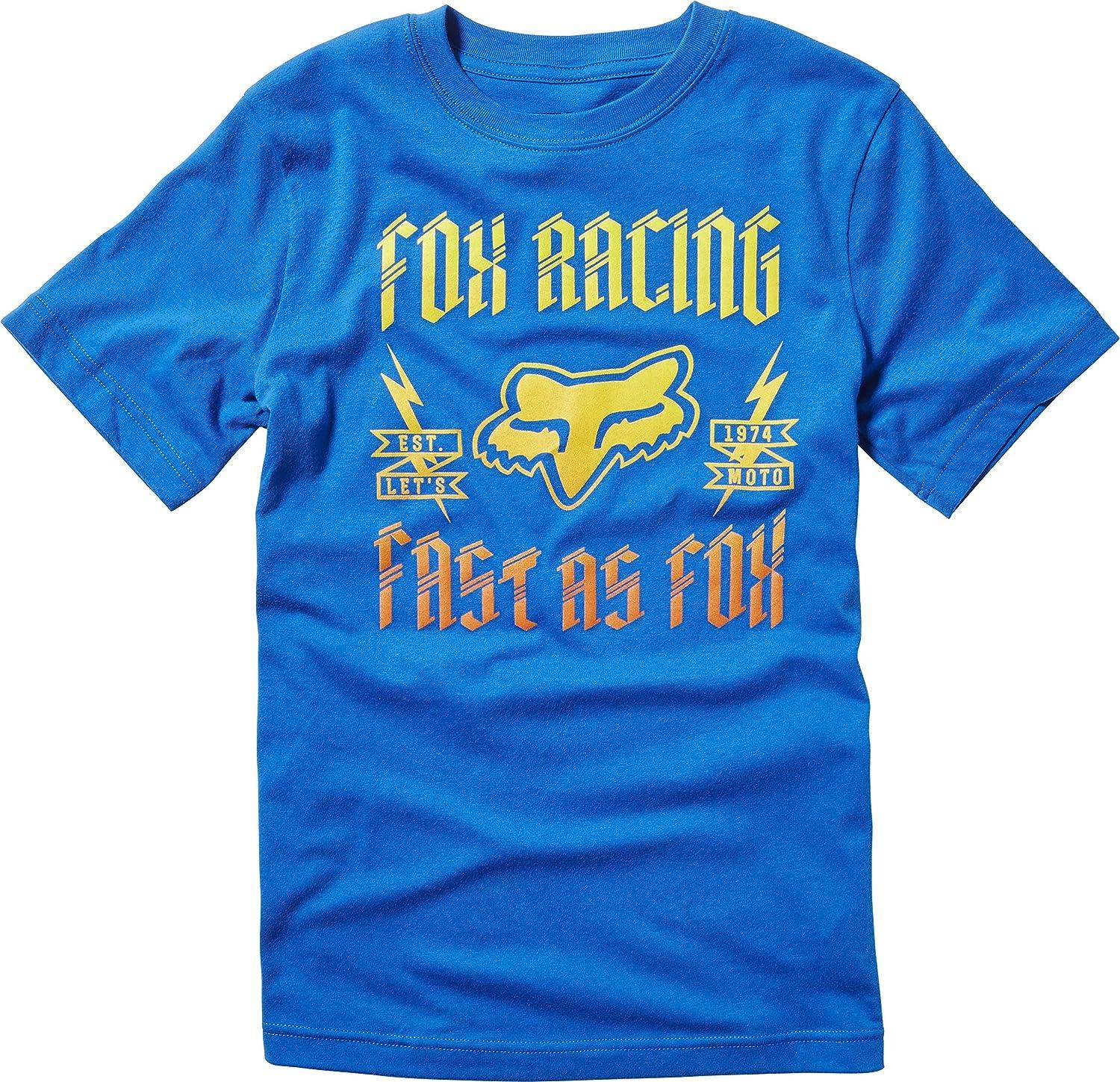 Fox – Camiseta Junior Preparación True Blue, talla YM: Amazon.es: Coche y moto