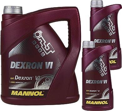 6 Liter Original Mannol Getriebeöl Dexron Vi Gear Oil Automatikgetriebeöl Auto