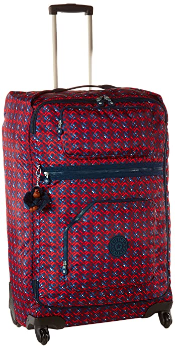 128718cf1130 Amazon.com  Kipling Women s Darcey Large Printed Wheeled Luggage ...