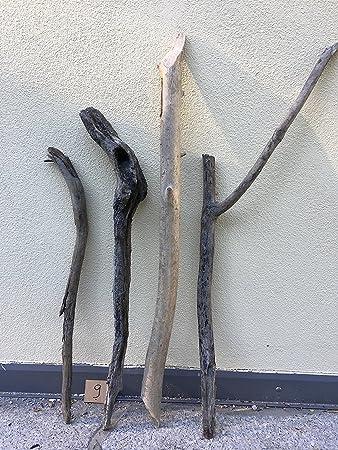 4 Treibholz Stämme Stücke Äste 100cm Bis 75cm Aus Den Alpen Kunst Unikat  Naturjuwel Schwemmholz Deko