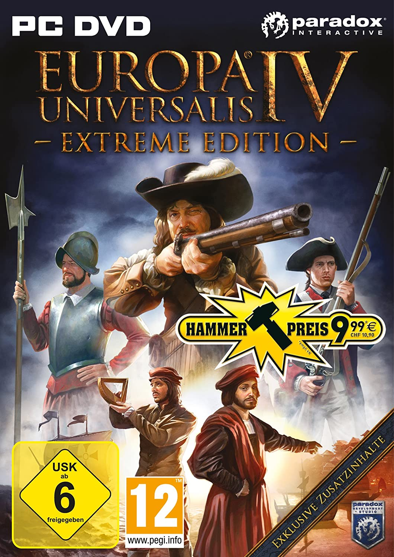 Europa Universalis Iv Extreme Edition Importación Alemana