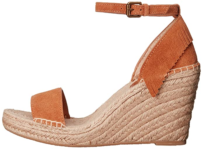 FRYE Women's Lila Feather Espadrille Wedge Sandal: