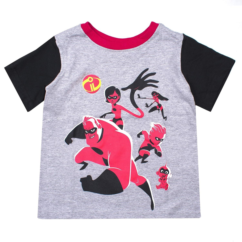 58c9bae676cf Amazon.com: The Incredibles Disney's Pixar Shirt - Toddler Boys 'Strong,  Fast, Incredible' Incredibles T-Shirt: Clothing