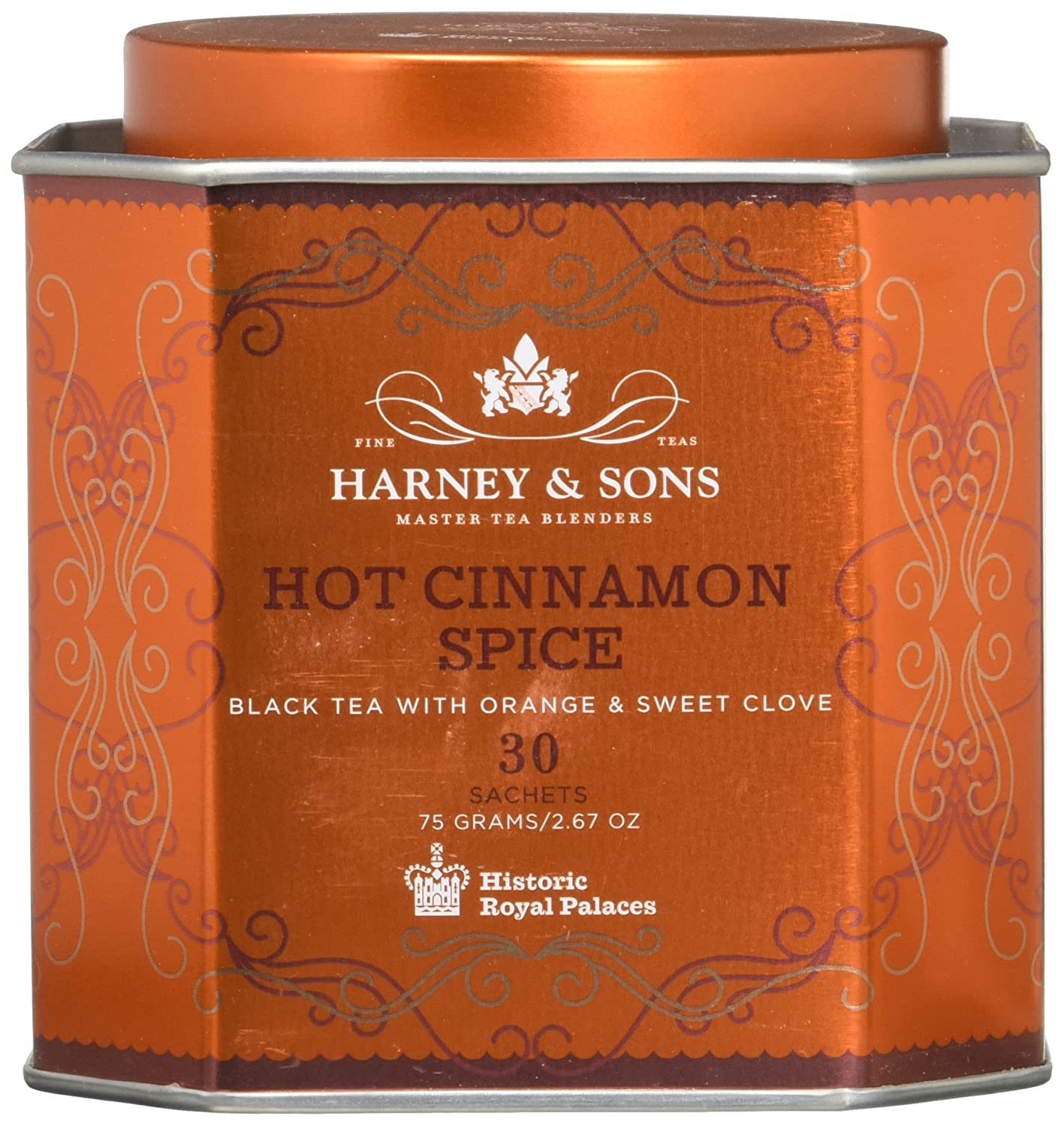 Harney and Sons Tea - Hot Cinnamon Spice - 30 Teabags (2 PK) Harney & Sons SYNCHKG074157