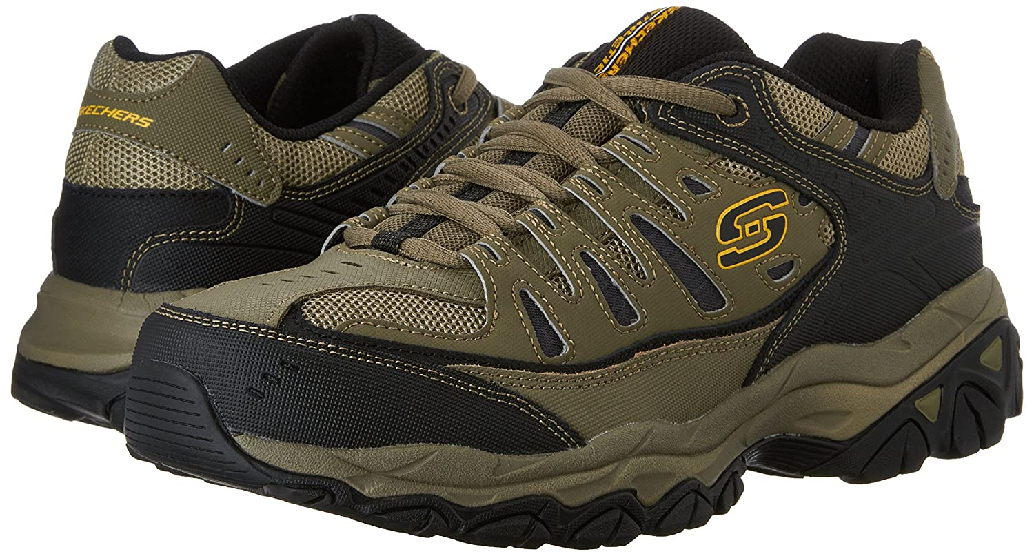 Skechers-Afterburn-Memory-Foam-M-Fit-Men-039-s-Sport-After-Burn-Sneakers-Shoes thumbnail 86