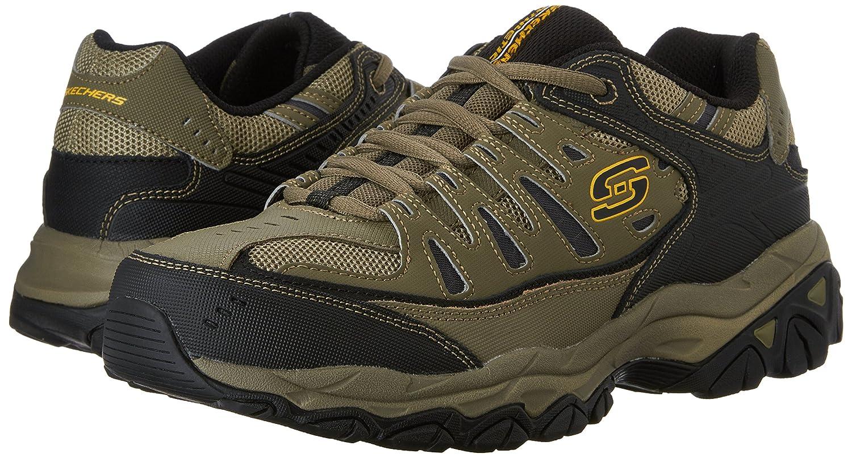 Skechers-Afterburn-Memory-Foam-M-fit-Men-039-s-Sport-After-Burn-Baskets-Chaussures miniature 86