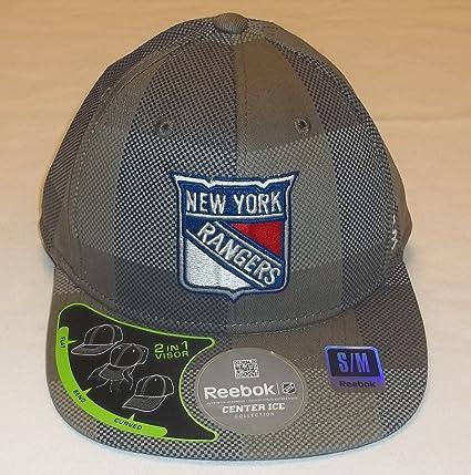 Amazon.com   New York Rangers Flexfit Hat by Reebok size S M M078Z ... 7adc206692d