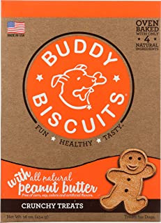 product image for Cloud Star Buddy Biscuits For Dogs, Peanut Butter Madness (16 Ounces), Large
