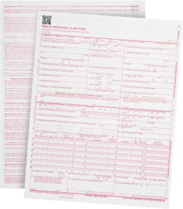 "500 CMS-1500 Claim Forms - Current HCFA 02/2012 Version""New Version""- Forms Will line up with Billing Software and Laser Compatible- 500 Sheets - 8.5'' x 11"
