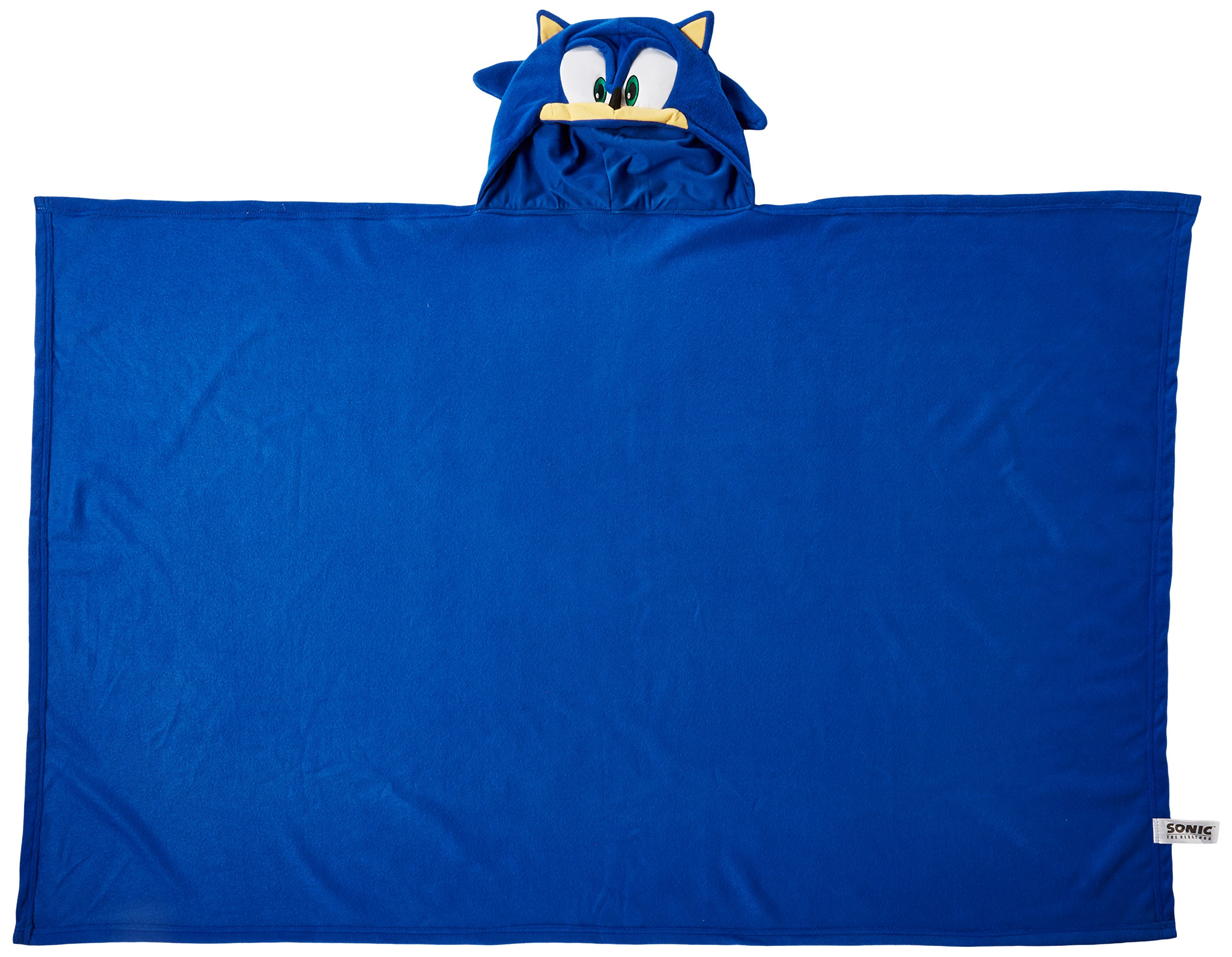 Great Eastern Sonic The Hedgehog GE-34020 Sonic Head Hoodie Blanket 57'' x 41'' by Great Eastern (Image #3)
