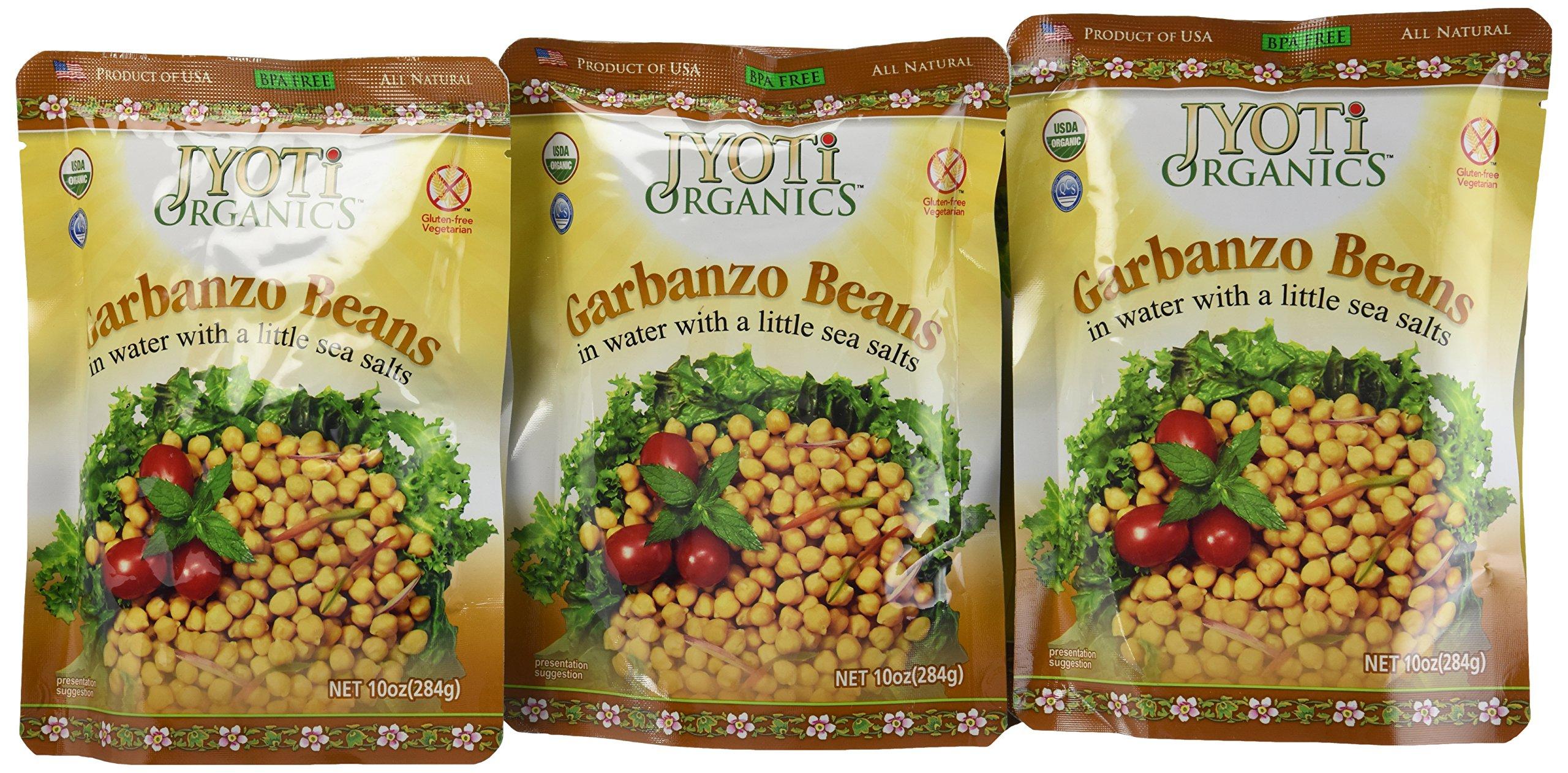 Amazon Com Jyoti Organic Black Beans 10 Ounce Pack Of 6