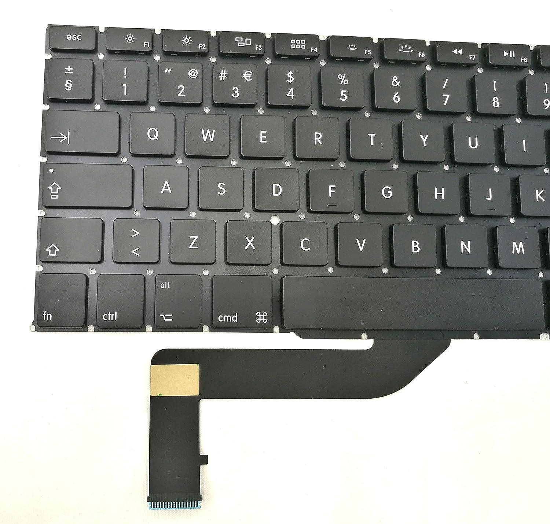 Ittecc Portuguese PO Teclado Keyboard Replacment Fit for Apple MacBook Pro Retina 15