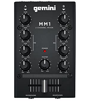 front facing gemini dj mm1