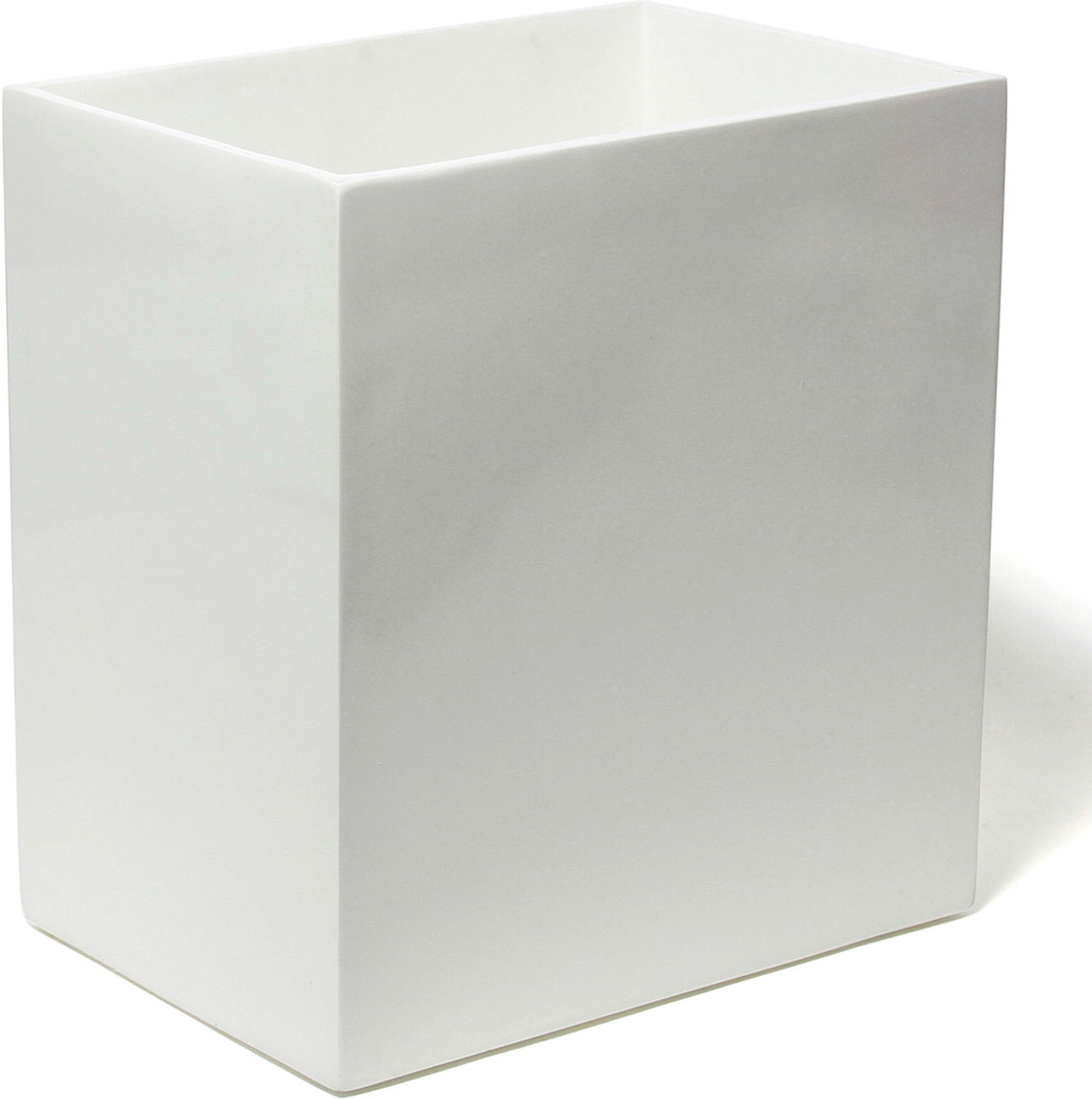 Lacquer Wastebasket