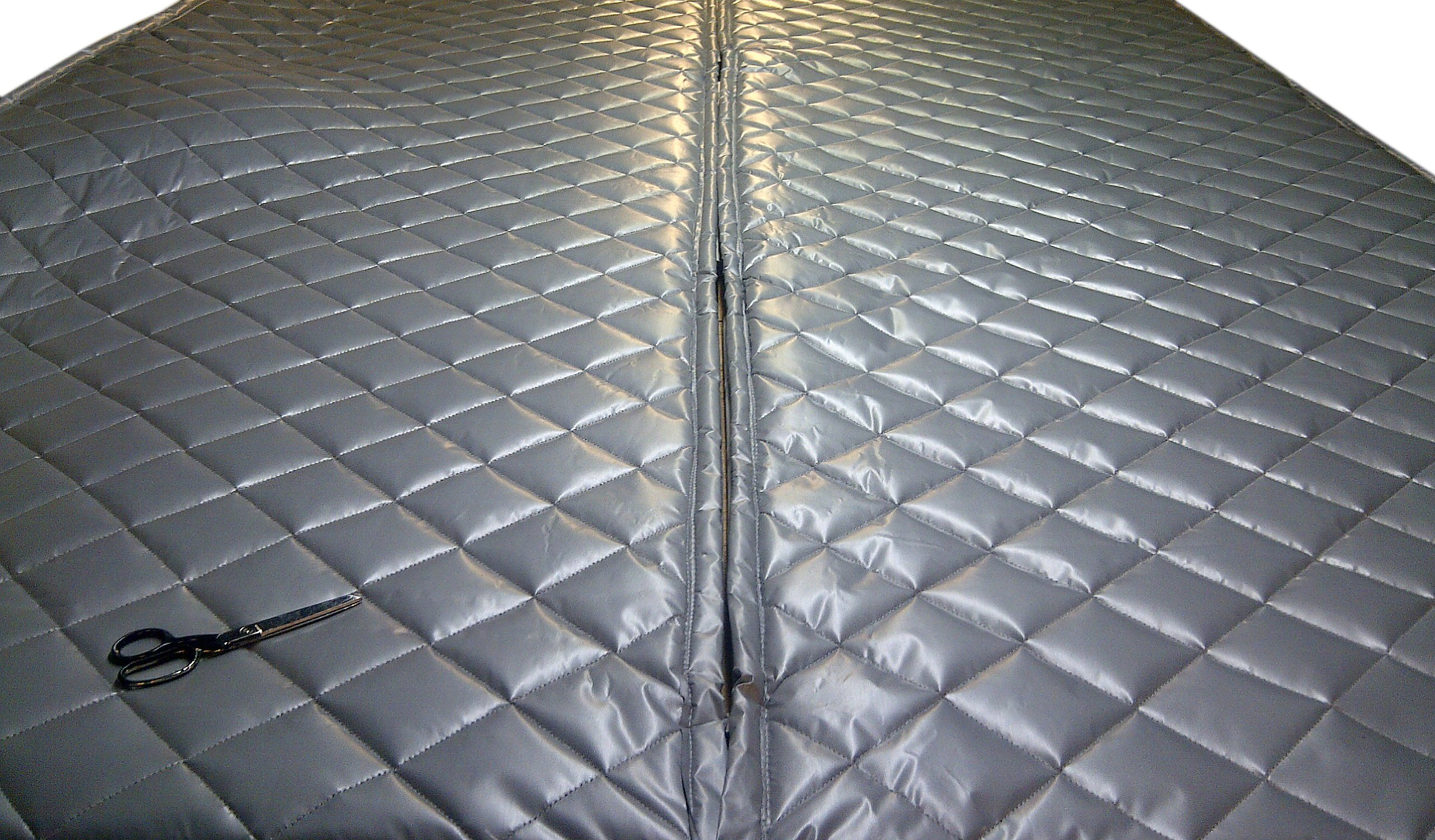 Singer Safety Double Faced Quilted Fiberglass Panel, 4' Width x 8' Height x 2'' Thick