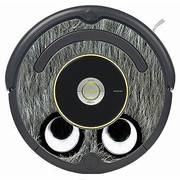 Amazon.com: Pegatina de impresión de monstruo gris para ...