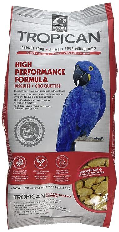 Tropican Galletas con Formula Alta Energía - 1,5 kg: Amazon.es: Productos para mascotas