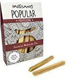 Palo Santo Sticks from Perù - Wild Harvested & Sustainably Sourced - Natural Incense Sticks Bursera Graveolens – Holy Wood for Anxiety, Stress and Meditation - q.ty 2,8 oz - 80 gr