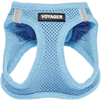 Voyager Step-In Air Pet Harness – All Weather Mesh, Step In Vest Harness for Small Dogs and Cats by Best Pet Supplies