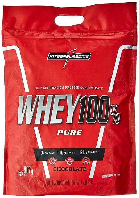 super whey 100 pure (refil-907g) integralmedica