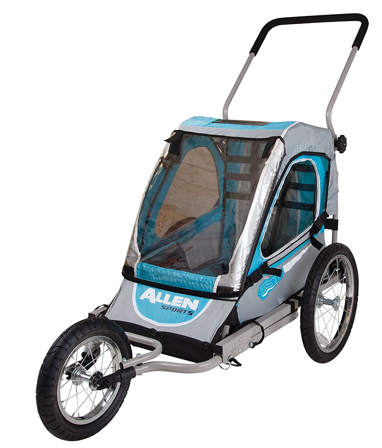 Amazon.com : Allen Sports Child Jogger Trailer : Child Carrier ...