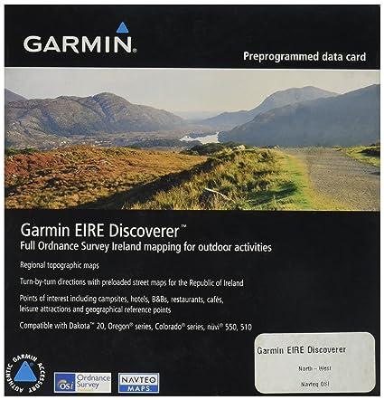 Amazon.com: Garmin Eire Discoverer North West Mapa de ...