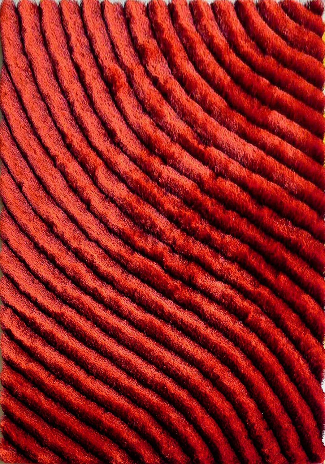 Amazoncom Red Striped Rug Kitchen Dining